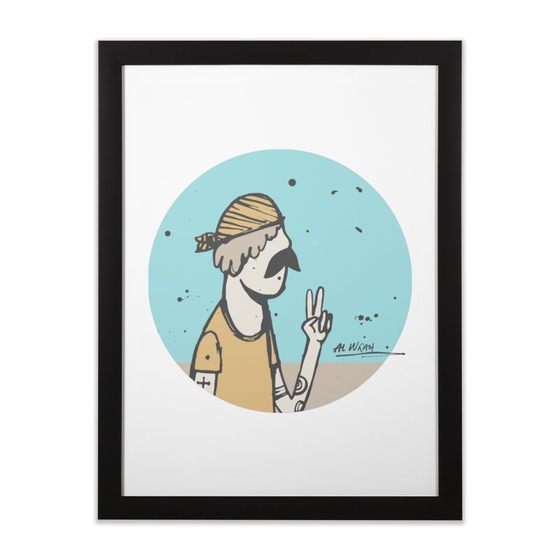 Mikey Home Framed Fine Art Print by Alwrath's Artist Shop
