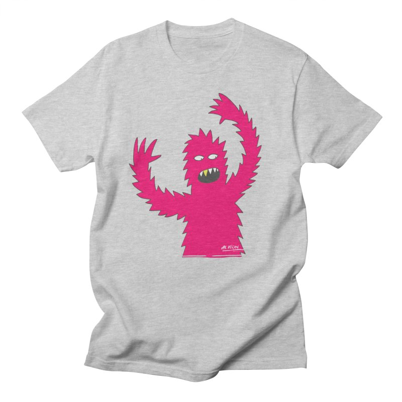 Happy Monster Men's T-Shirt by Alwrath's Artist Shop