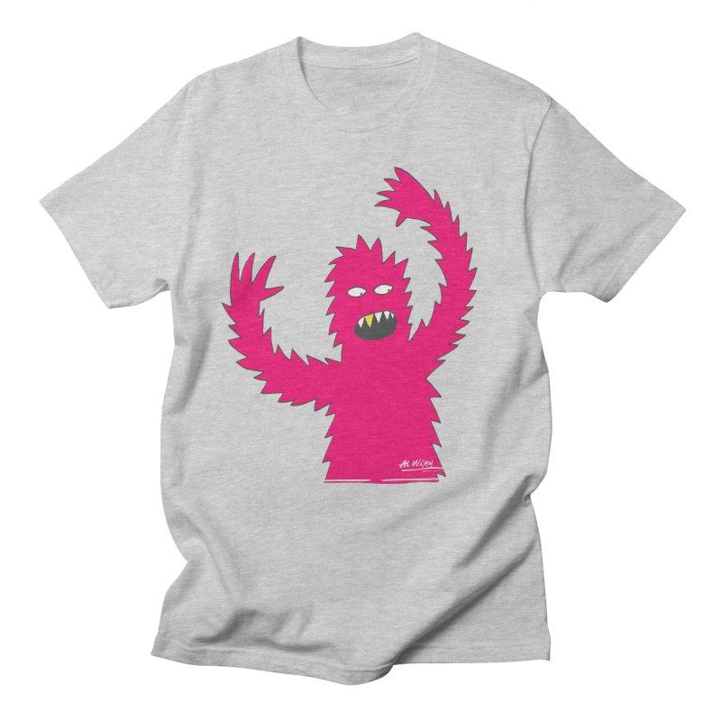 Happy Monster Men's T-Shirt by Alwrath's Artist Shop