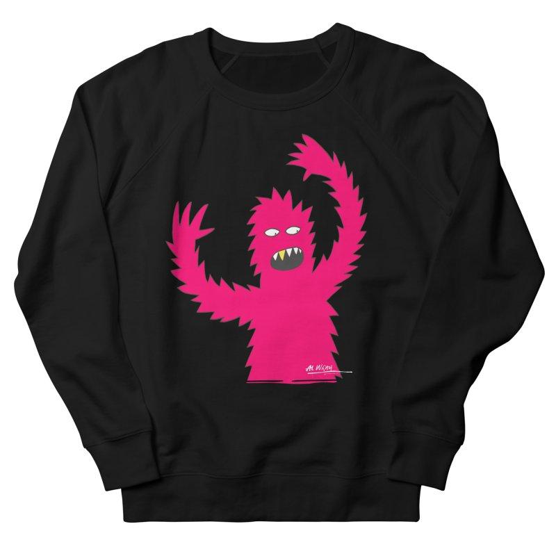 Happy Monster Women's Sweatshirt by Alwrath's Artist Shop