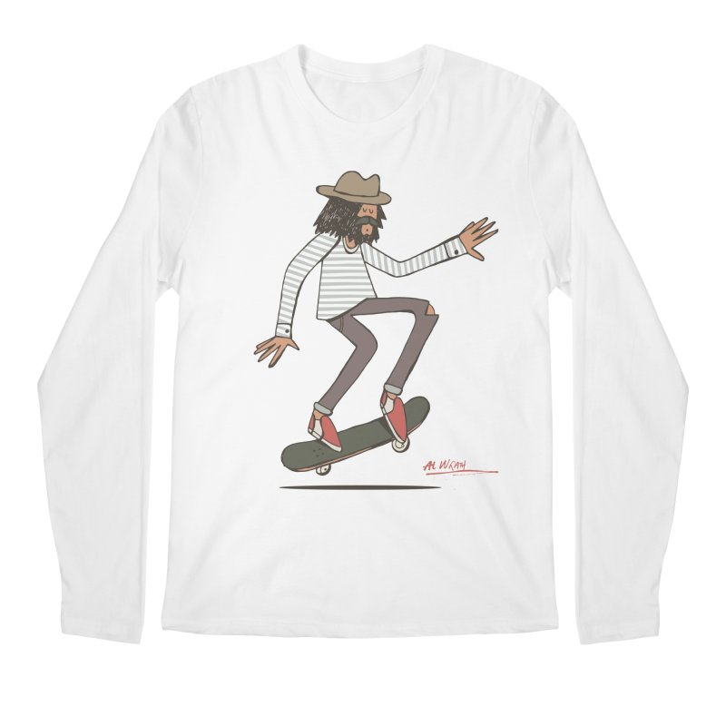 Olly Men's Regular Longsleeve T-Shirt by Alwrath's Artist Shop
