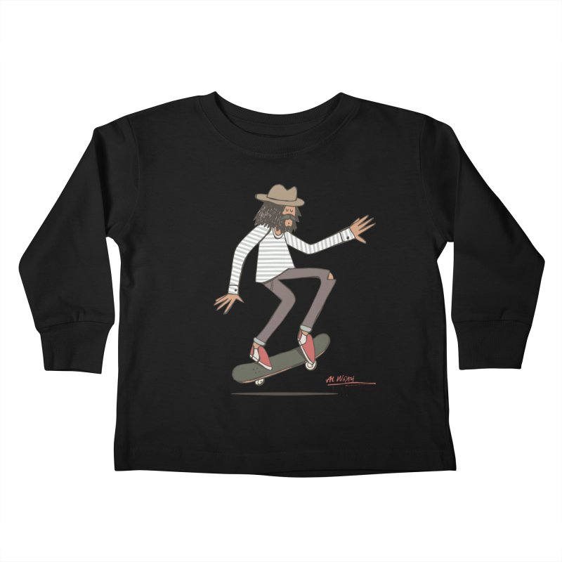 Olly Kids Toddler Longsleeve T-Shirt by Alwrath's Artist Shop
