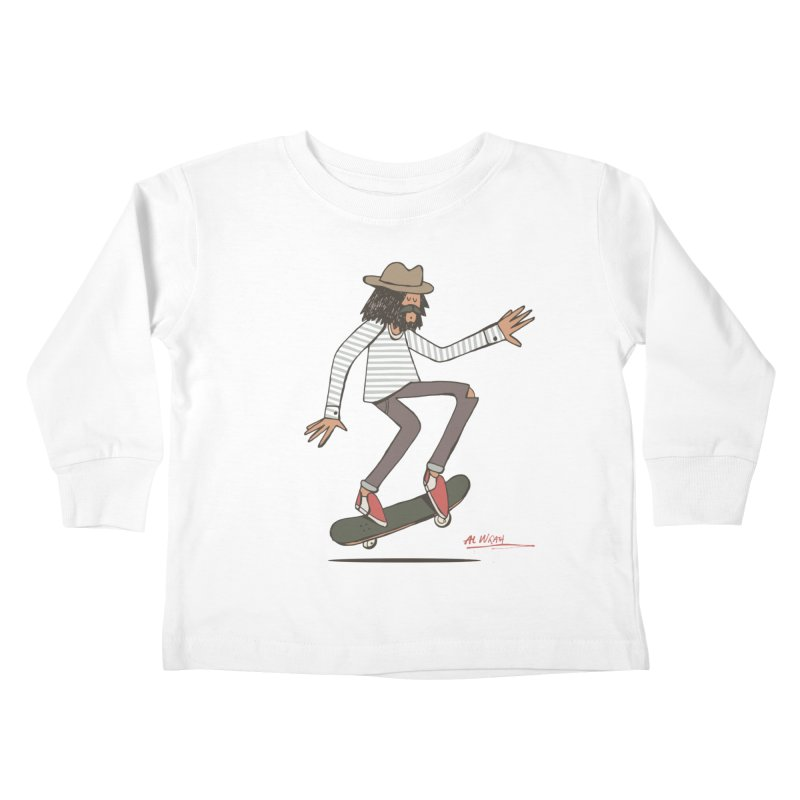 Olly Kids Toddler Longsleeve T-Shirt by Alwrath's Artist Shop
