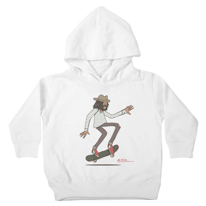 Olly Kids Toddler Pullover Hoody by Alwrath's Artist Shop