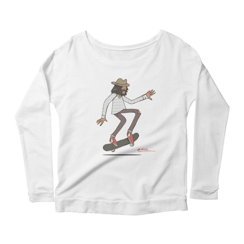 Olly Women's Scoop Neck Longsleeve T-Shirt by Alwrath's Artist Shop