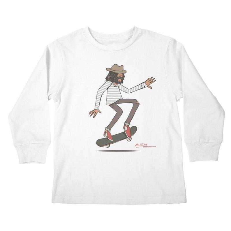 Olly Kids Longsleeve T-Shirt by Alwrath's Artist Shop