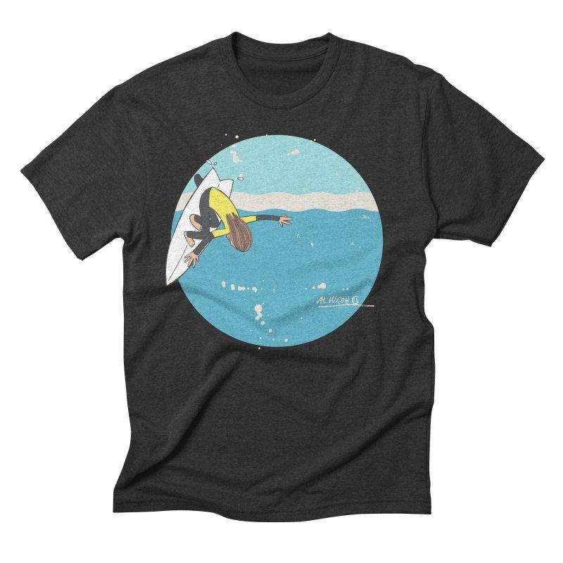 Wilko at Bells Men's Triblend T-shirt by Alwrath's Artist Shop
