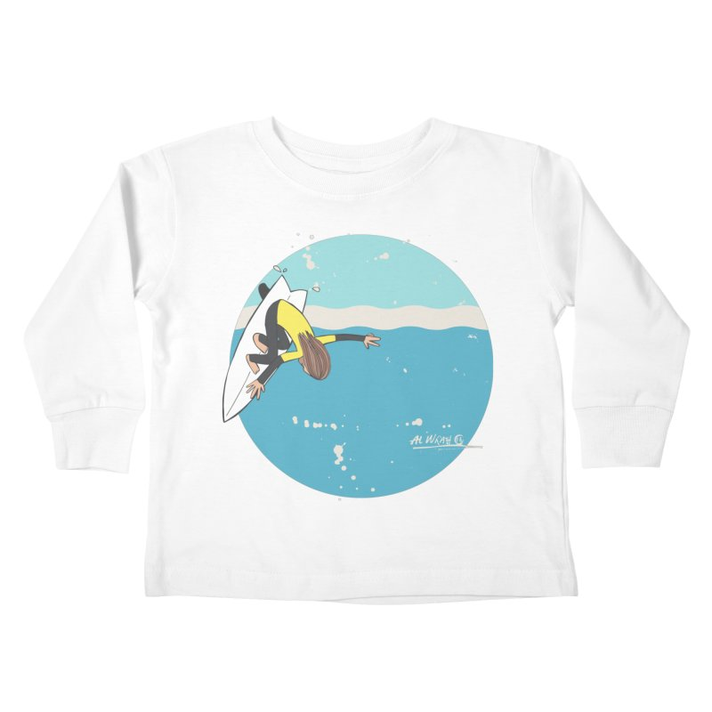 Wilko at Bells Kids Toddler Longsleeve T-Shirt by Alwrath's Artist Shop