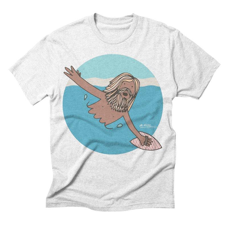 Straight Outta Whompton Men's Triblend T-shirt by Alwrath's Artist Shop