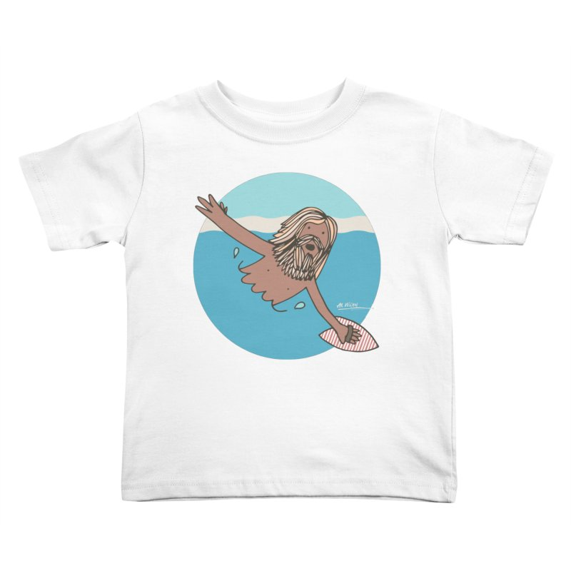 Straight Outta Whompton Kids Toddler T-Shirt by Alwrath's Artist Shop