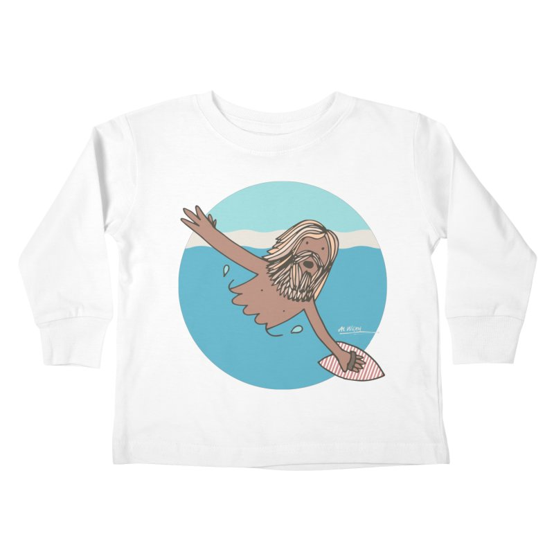 Straight Outta Whompton Kids Toddler Longsleeve T-Shirt by Alwrath's Artist Shop