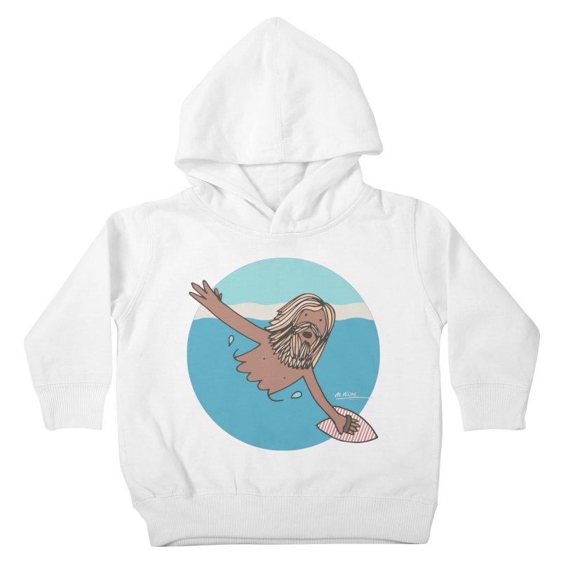 Straight Outta Whompton Kids Toddler Pullover Hoody by Alwrath's Artist Shop