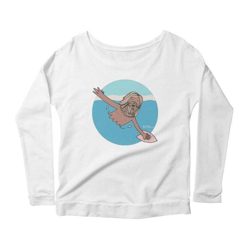 Straight Outta Whompton Women's Scoop Neck Longsleeve T-Shirt by Alwrath's Artist Shop