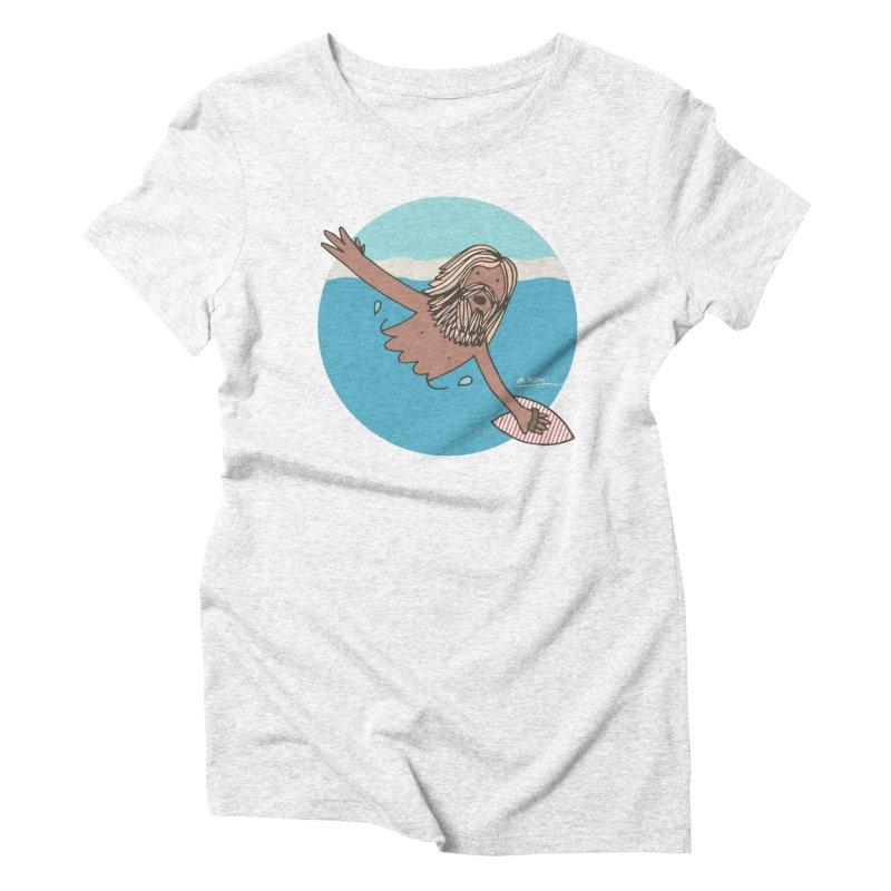 Straight Outta Whompton Women's Triblend T-shirt by Alwrath's Artist Shop