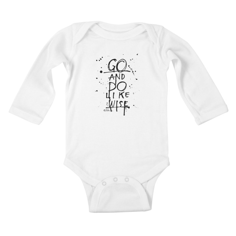 Likewise Kids Baby Longsleeve Bodysuit by Alwrath's Artist Shop