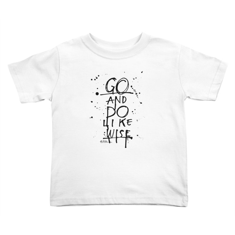 Likewise Kids Toddler T-Shirt by Alwrath's Artist Shop