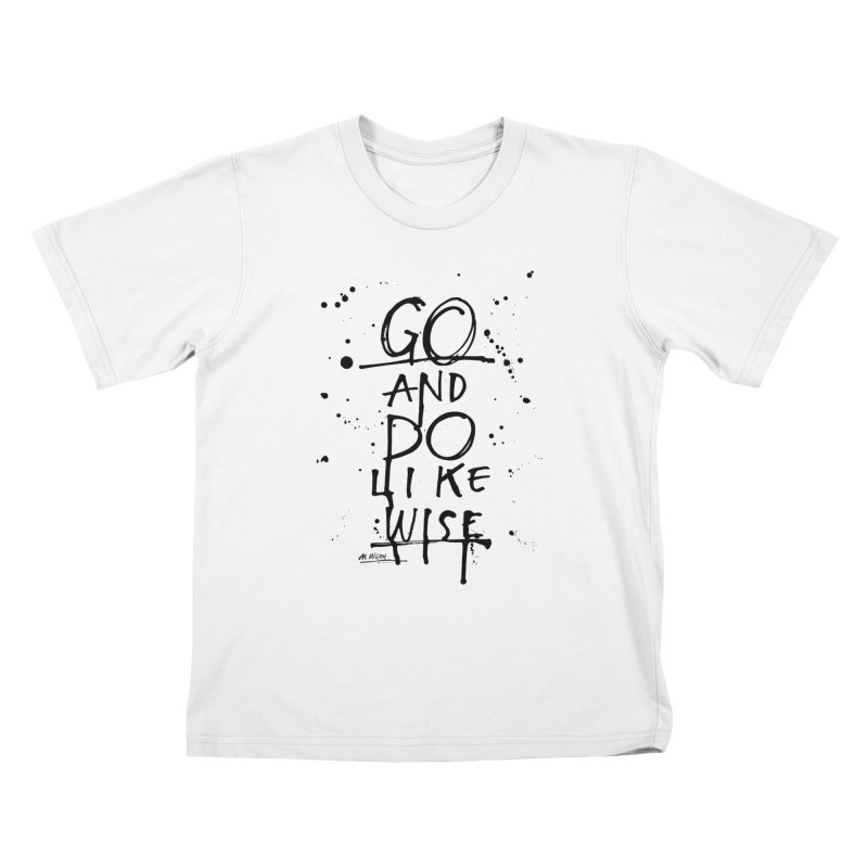Likewise Kids T-Shirt by Alwrath's Artist Shop
