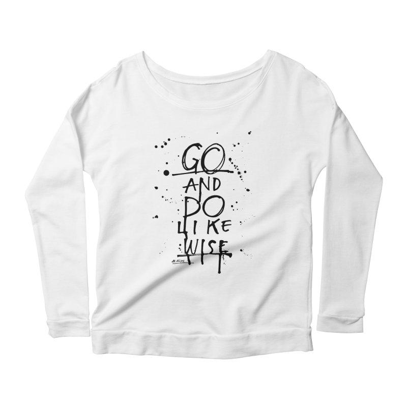 Likewise Women's Scoop Neck Longsleeve T-Shirt by Alwrath's Artist Shop