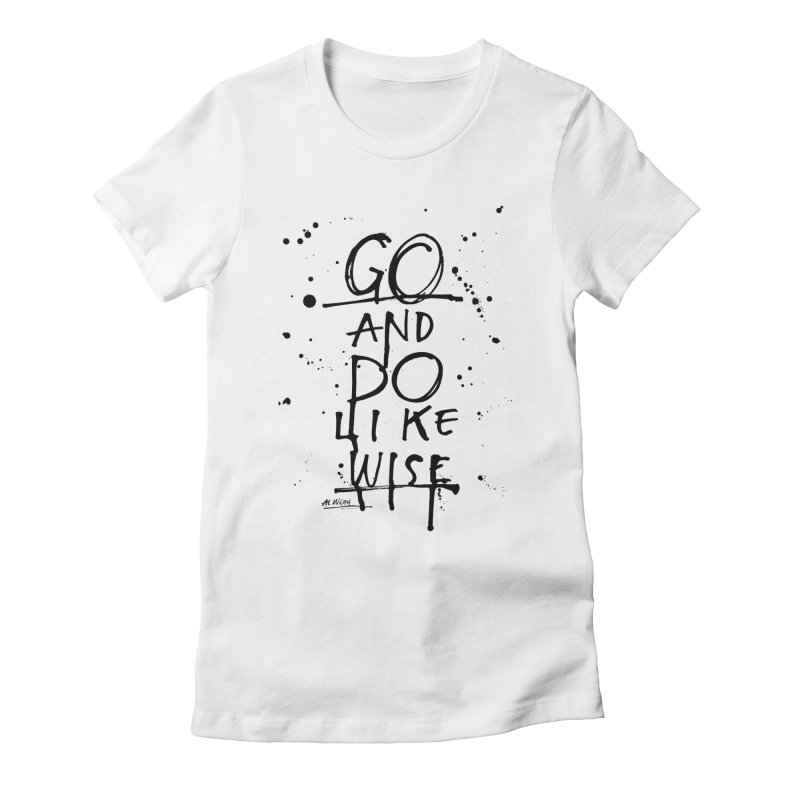 Likewise Women's Fitted T-Shirt by Alwrath's Artist Shop