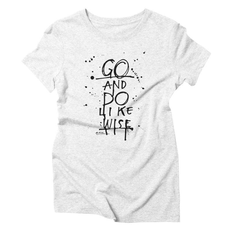 Likewise Women's Triblend T-shirt by Alwrath's Artist Shop