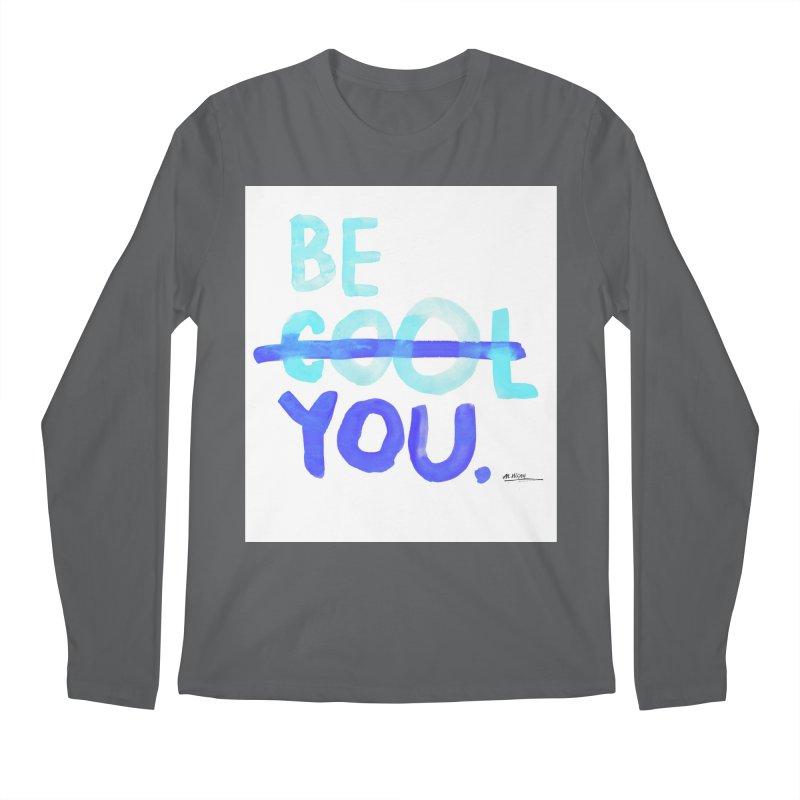 Be You Men's Regular Longsleeve T-Shirt by Alwrath's Artist Shop
