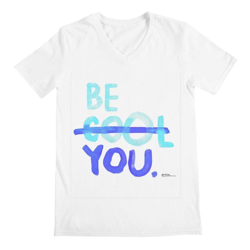 Be You Men's V-Neck by Alwrath's Artist Shop