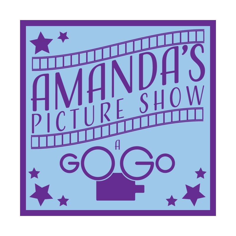 Amanda's Picture Show A Go Go Square by AmandaAGoGo's Artist Shop