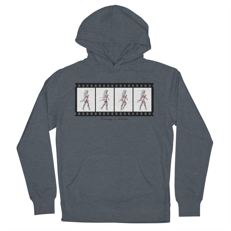 Dreamy in Motion Women's French Terry Pullover Hoody by AmandaHoneyland's Artist Shop