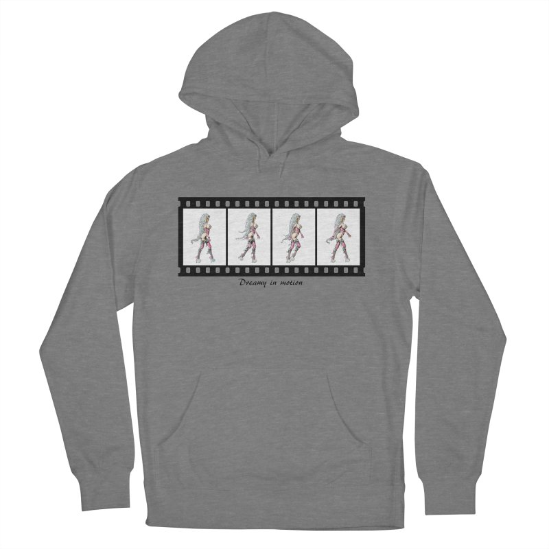 Dreamy in Motion Men's French Terry Pullover Hoody by AmandaHoneyland's Artist Shop