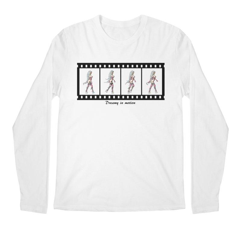 Dreamy in Motion Men's Regular Longsleeve T-Shirt by AmandaHoneyland's Artist Shop