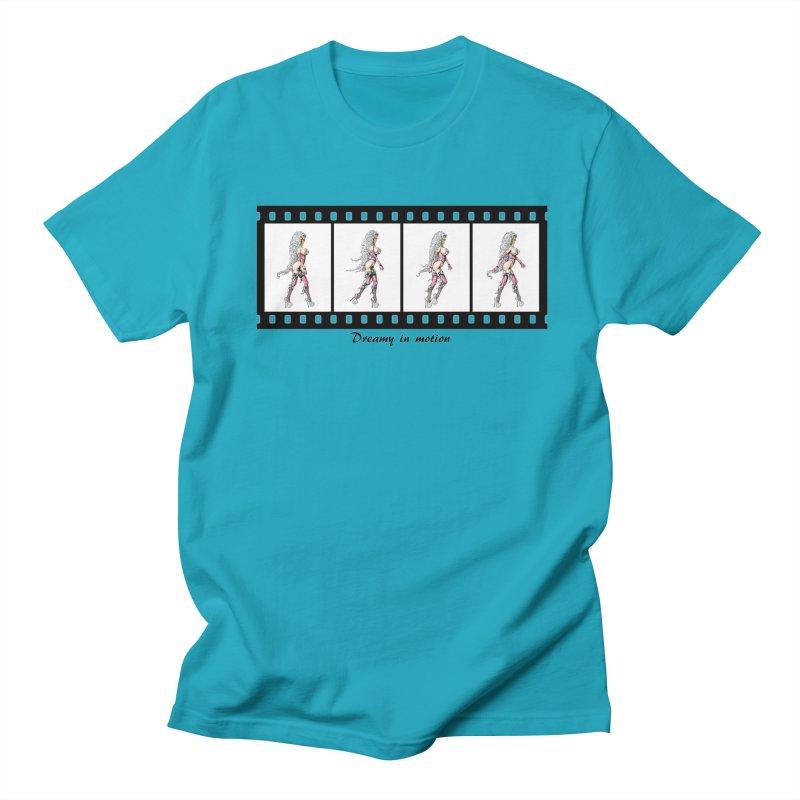 Dreamy in Motion Men's Regular T-Shirt by AmandaHoneyland's Artist Shop