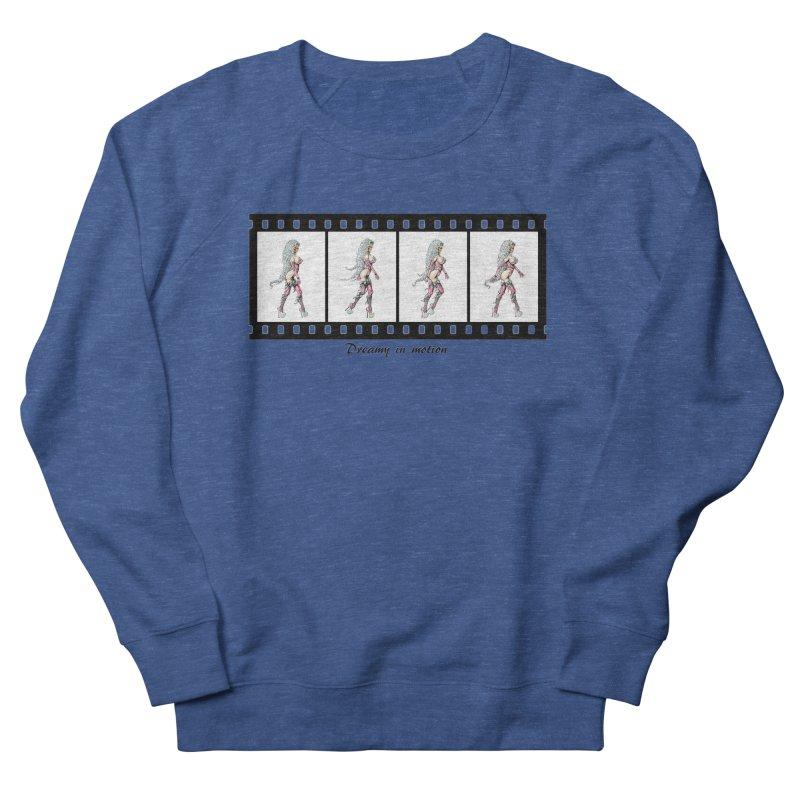 Dreamy in Motion Women's French Terry Sweatshirt by AmandaHoneyland's Artist Shop