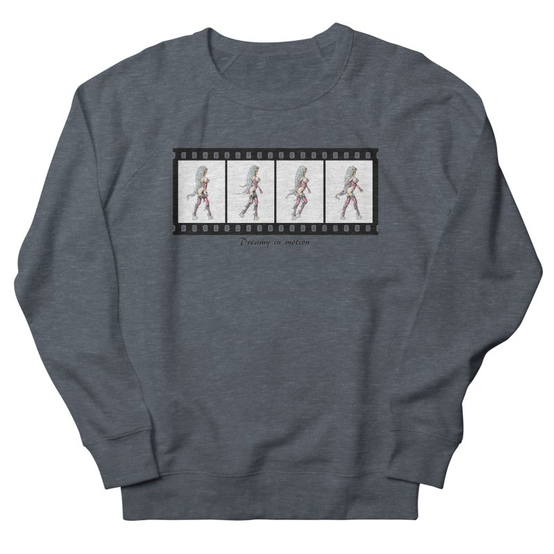 Dreamy in Motion Women's French Terry Sweatshirt by AmandaHoneyland's Artist Shop
