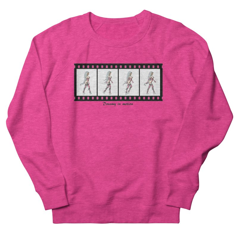 Dreamy in Motion Men's French Terry Sweatshirt by AmandaHoneyland's Artist Shop
