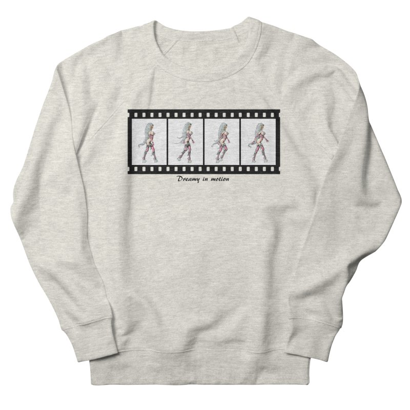 Dreamy in Motion Men's French Terry Sweatshirt by AmandaHoneyland's Artist Shop