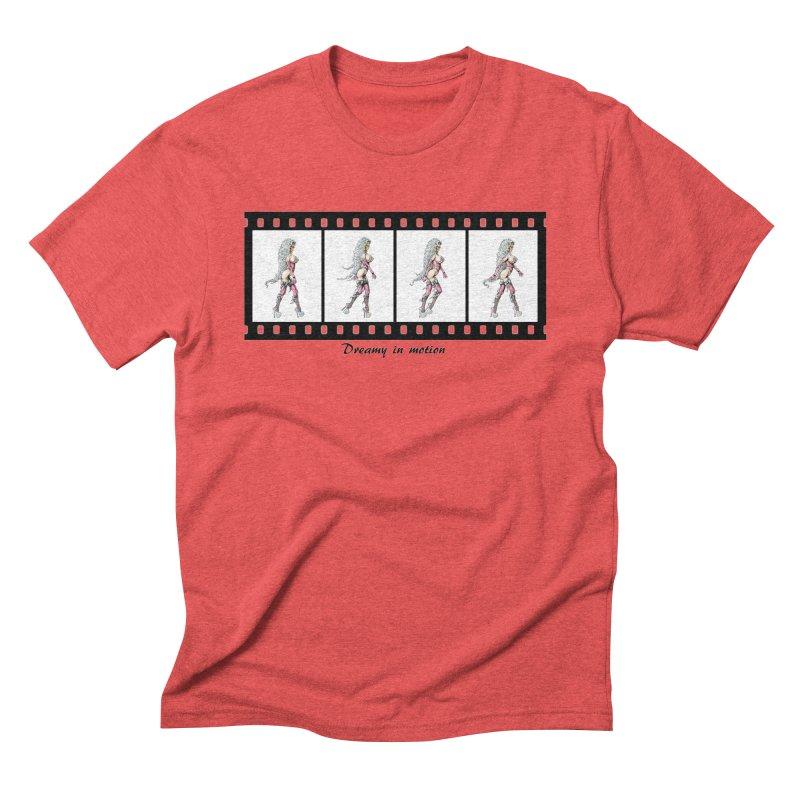 Dreamy in Motion Men's Triblend T-Shirt by AmandaHoneyland's Artist Shop