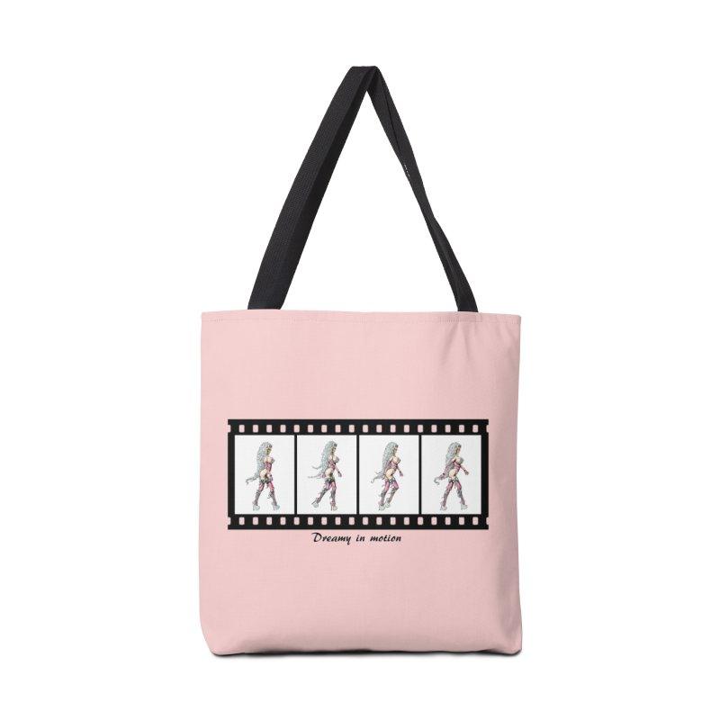 Dreamy in Motion Accessories Tote Bag Bag by AmandaHoneyland's Artist Shop