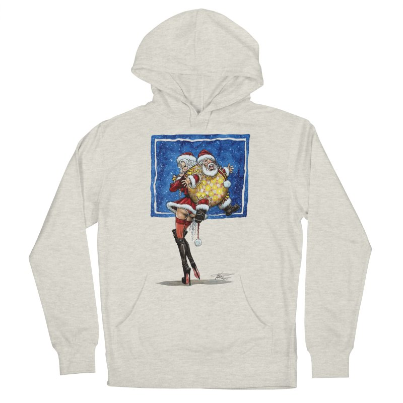 Spicy Xmas Women's French Terry Pullover Hoody by AmandaHoneyland's Artist Shop