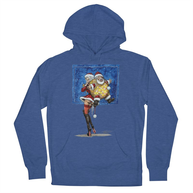 Spicy Xmas Men's French Terry Pullover Hoody by AmandaHoneyland's Artist Shop