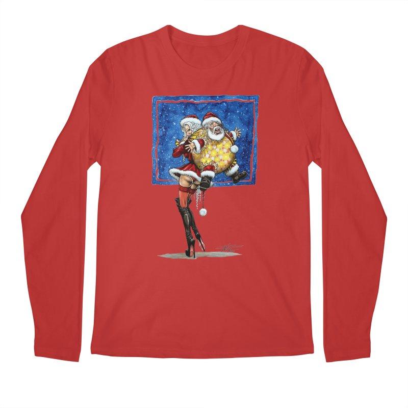 Spicy Xmas Men's Regular Longsleeve T-Shirt by AmandaHoneyland's Artist Shop