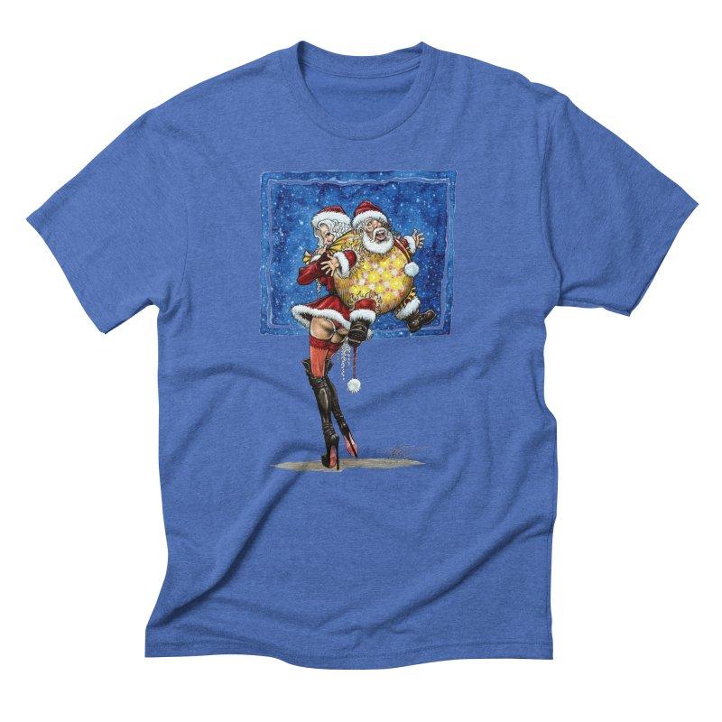 Spicy Xmas Men's Triblend T-Shirt by AmandaHoneyland's Artist Shop