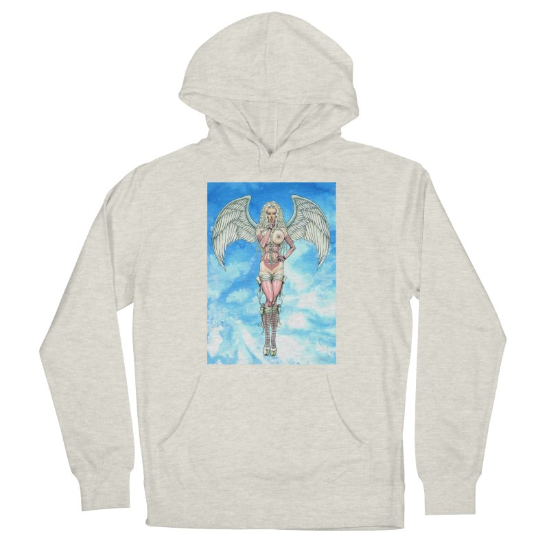 Angel Dreamy Women's French Terry Pullover Hoody by AmandaHoneyland's Artist Shop