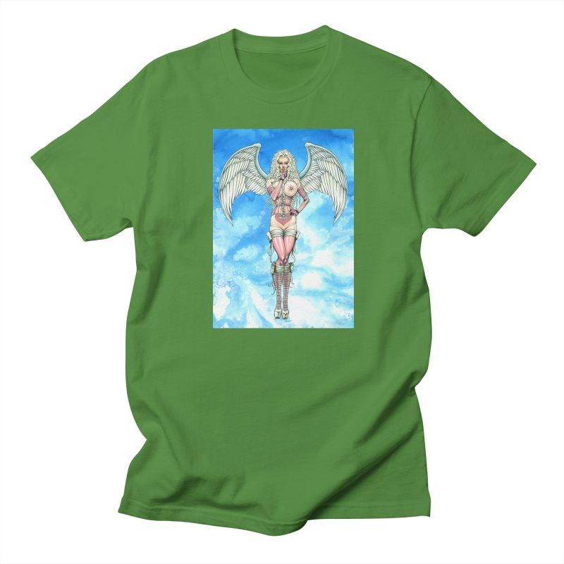 Angel Dreamy Men's T-Shirt by AmandaHoneyland's Artist Shop