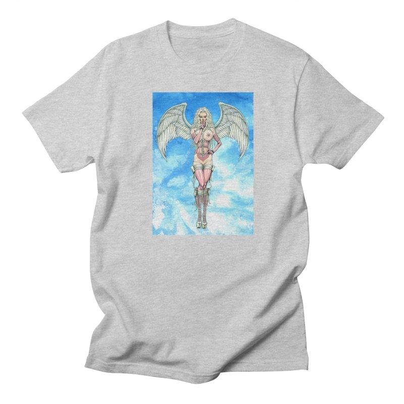 Angel Dreamy Men's Regular T-Shirt by AmandaHoneyland's Artist Shop