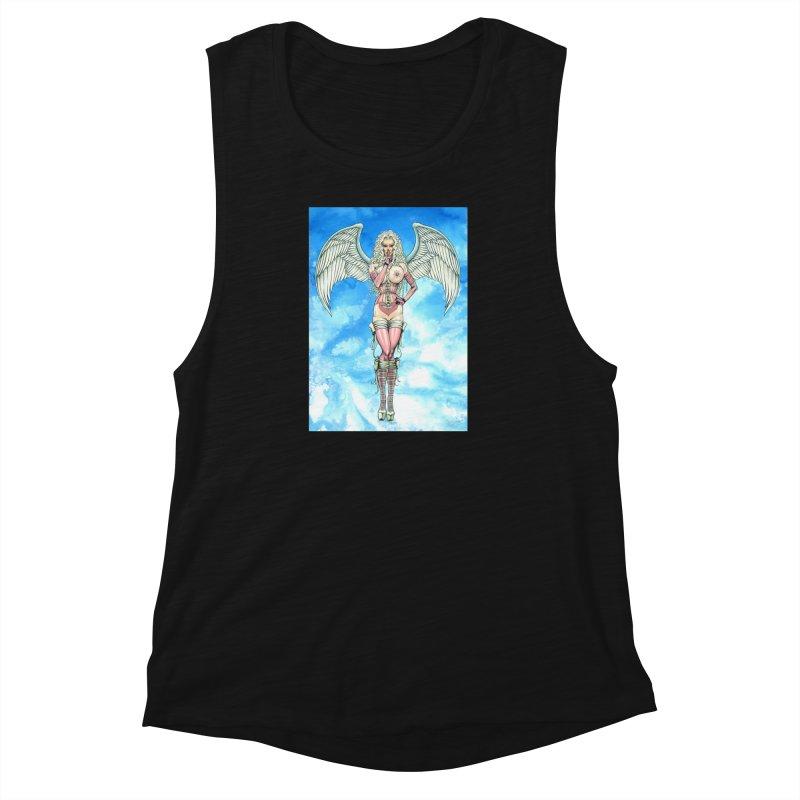 Angel Dreamy Women's Muscle Tank by AmandaHoneyland's Artist Shop