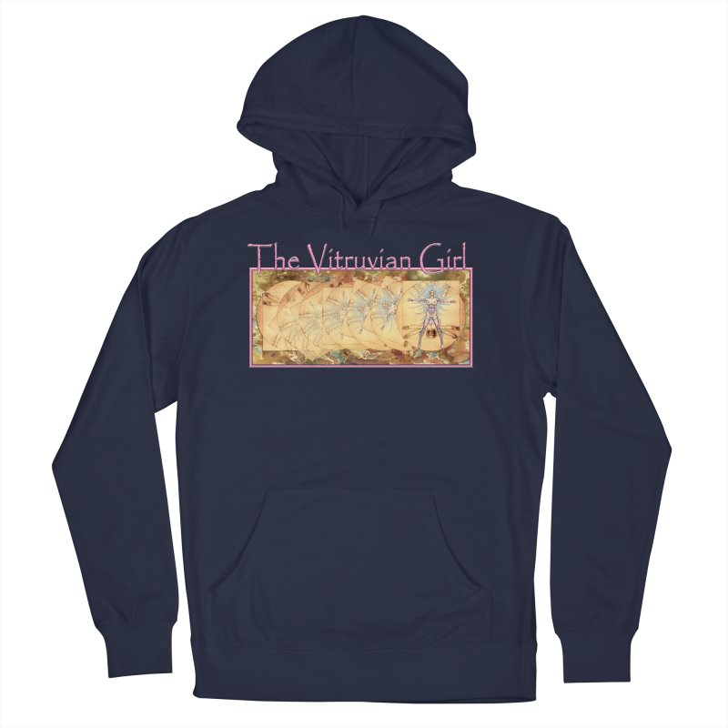The Vitruvian Girl Men's Pullover Hoody by AmandaHoneyland's Artist Shop