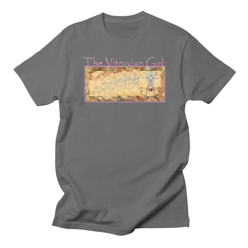 The Vitruvian Girl Men's T-Shirt by AmandaHoneyland's Artist Shop