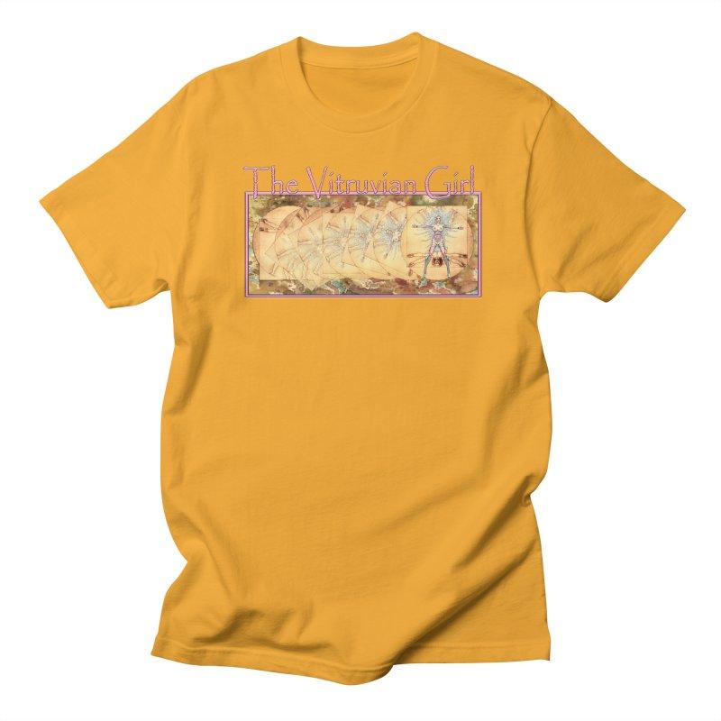 The Vitruvian Girl Men's T-Shirt by AmandaHoneyland's Artist Shop