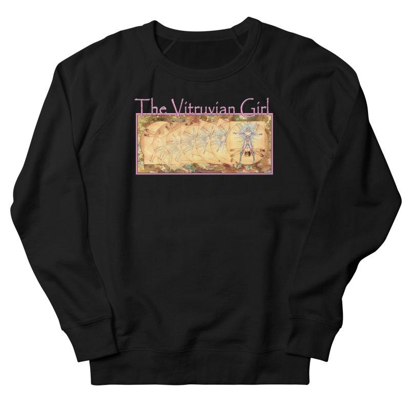 The Vitruvian Girl Men's French Terry Sweatshirt by AmandaHoneyland's Artist Shop
