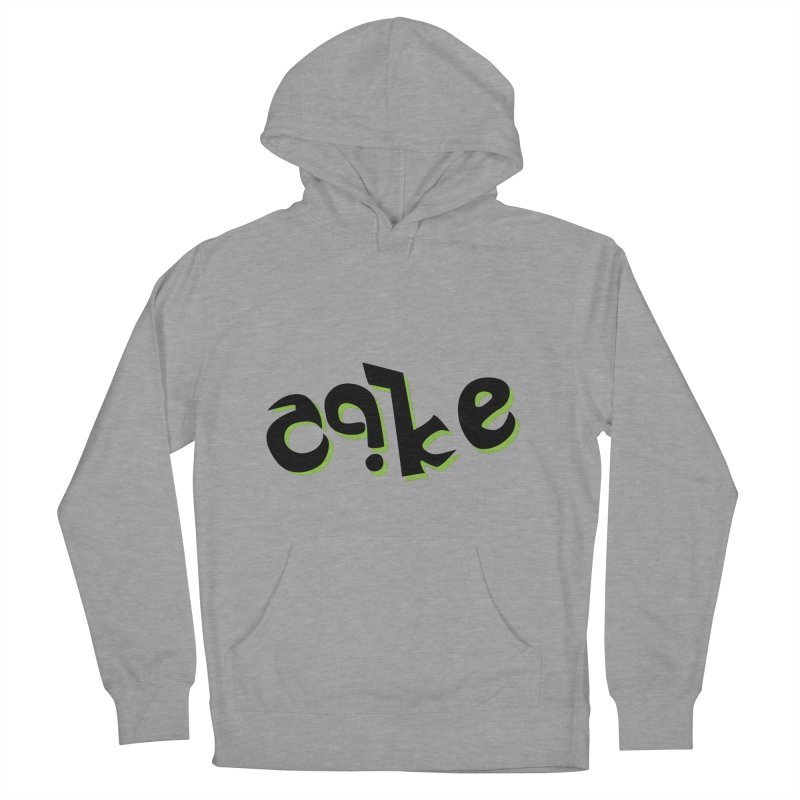 The Cake is Not True Men's Pullover Hoody by Ambivalentine's Shop